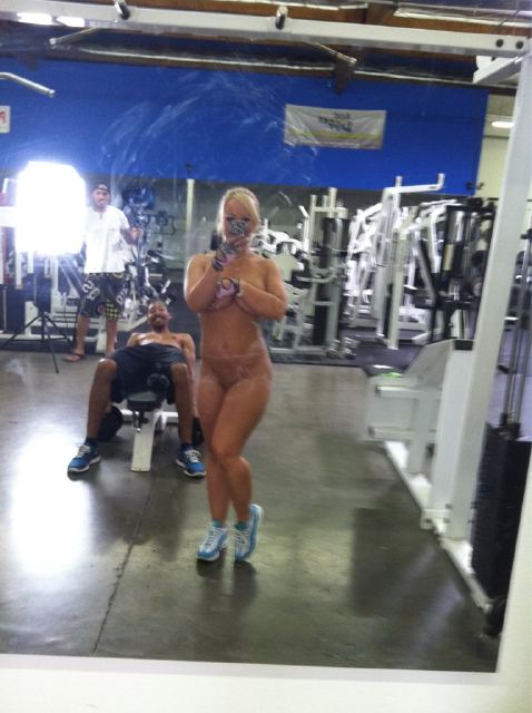 free naked exercise porn
